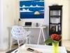 Wohnzimmer Schreibtisch