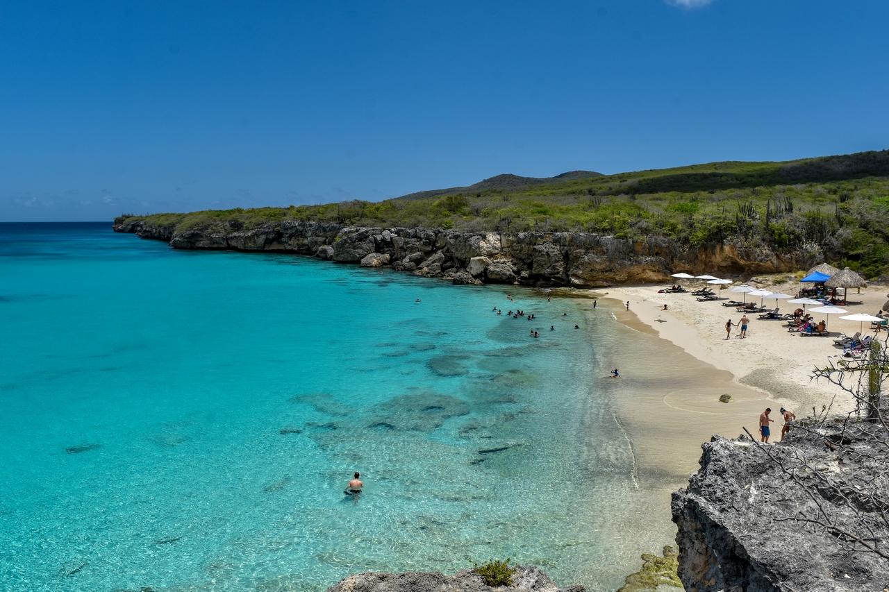 Strand Kleine Knip , Karibik - Curacao