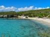 Strand Daaibooi baai , Karibik - Curacao