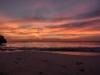 Strand Große Knip bei Sonnenuntergang, Karibik - Curacao