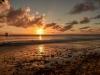 Sonnenuntergang Playa Kalki, Karibik - Curacao