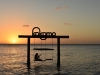 Kokomo Strand, Sonnenuntergang, Schaukel, Karibik - Curacao