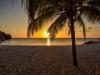 Strand Daaibooi bei Sonnenuntergang, Karibik - Curacao