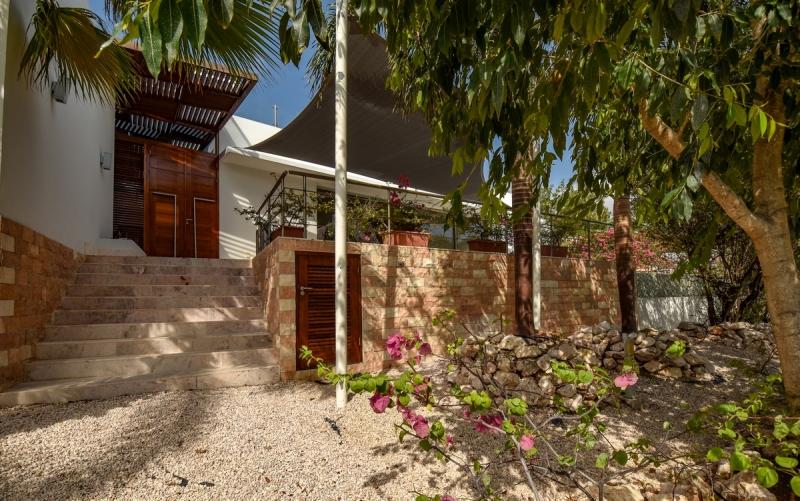 Villa MariMar Eingangsbereich