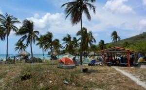 St. Cruz, ein Badestrand in der Karibik
