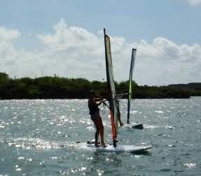 Windsurfen in Curacao