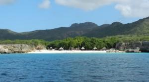 Curacao Sandstrand kleine Knip