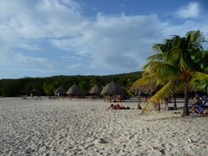 curacao sand strand daaibooi baai