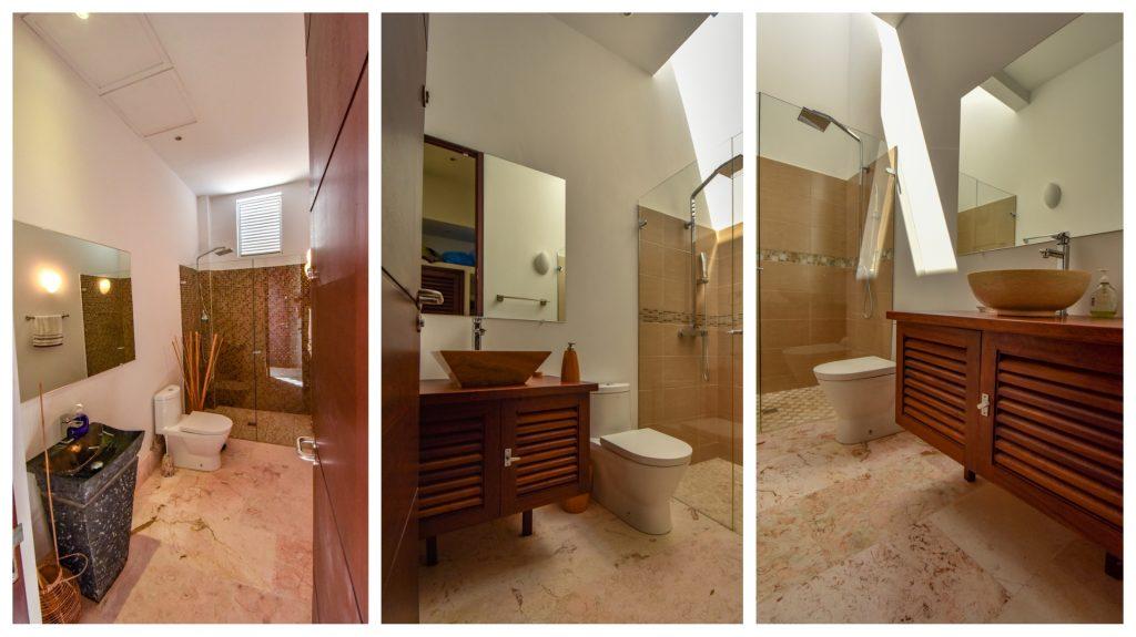 Luxusvilla auf Curacao Badezimmer