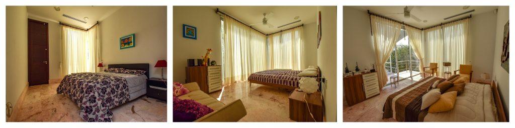 Luxusvilla auf Curacao Schlafzimmer