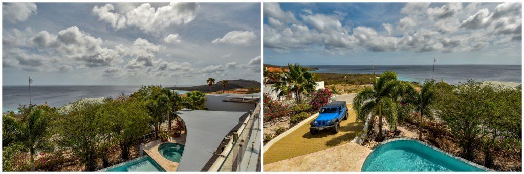 Villa auf Curacao Aussicht