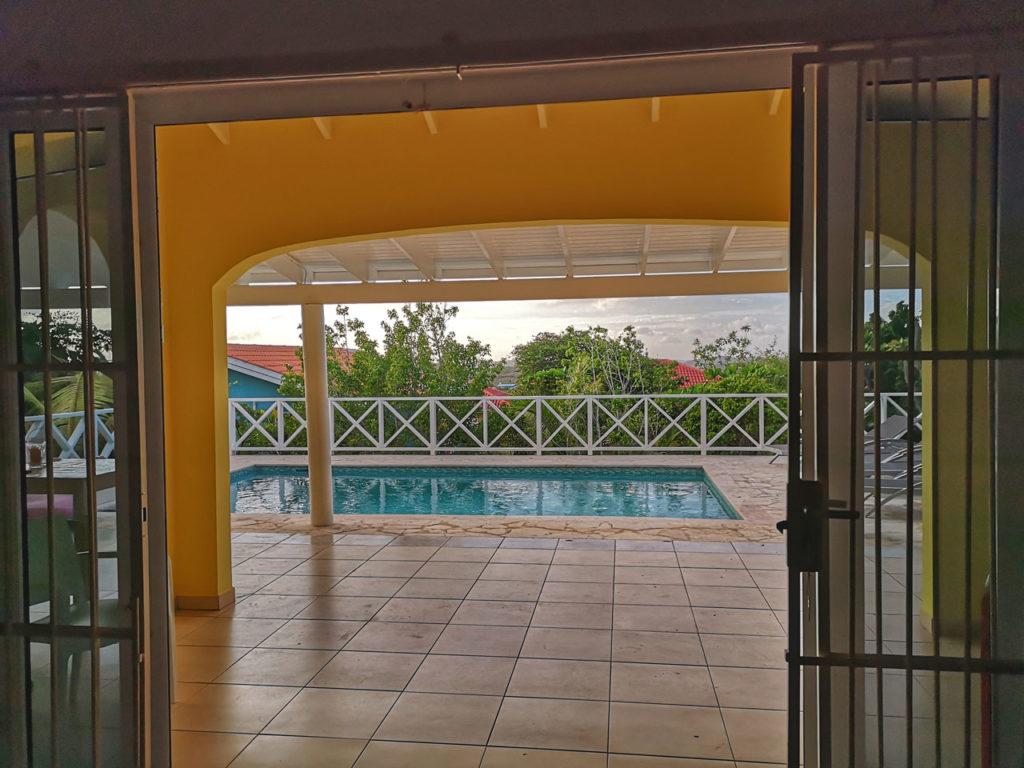 Villa Alana Curacao - Ausblick Pooldeck