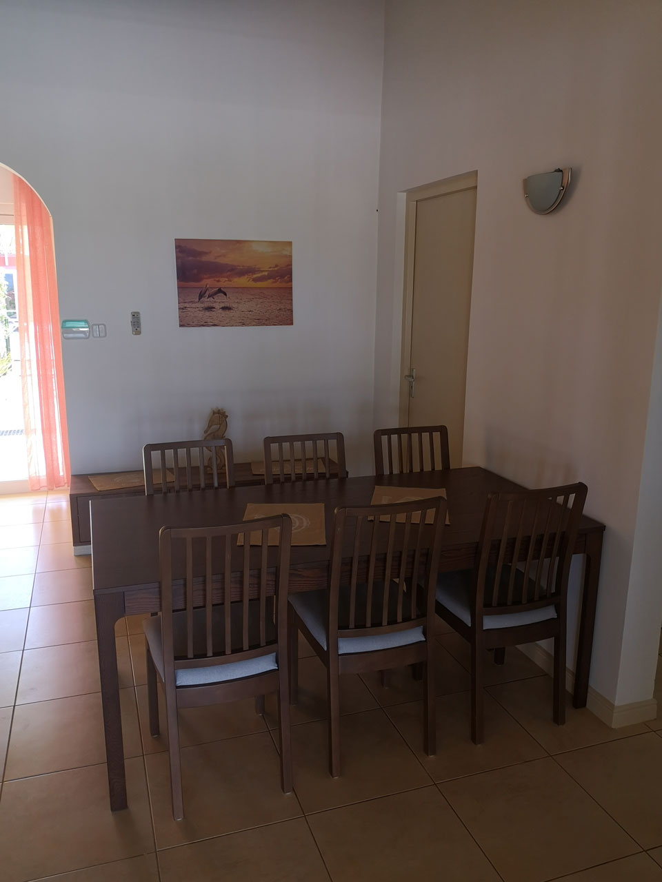 Villa Alana Curacao - Esszimmer