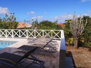 Villa Alana Curacao - Pooldeck