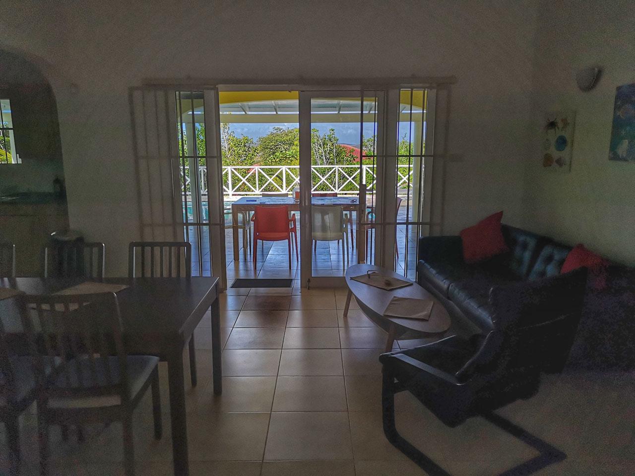 Villa Alana Curacao - Wohnzimmer
