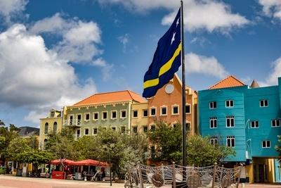 Curacao Flagge